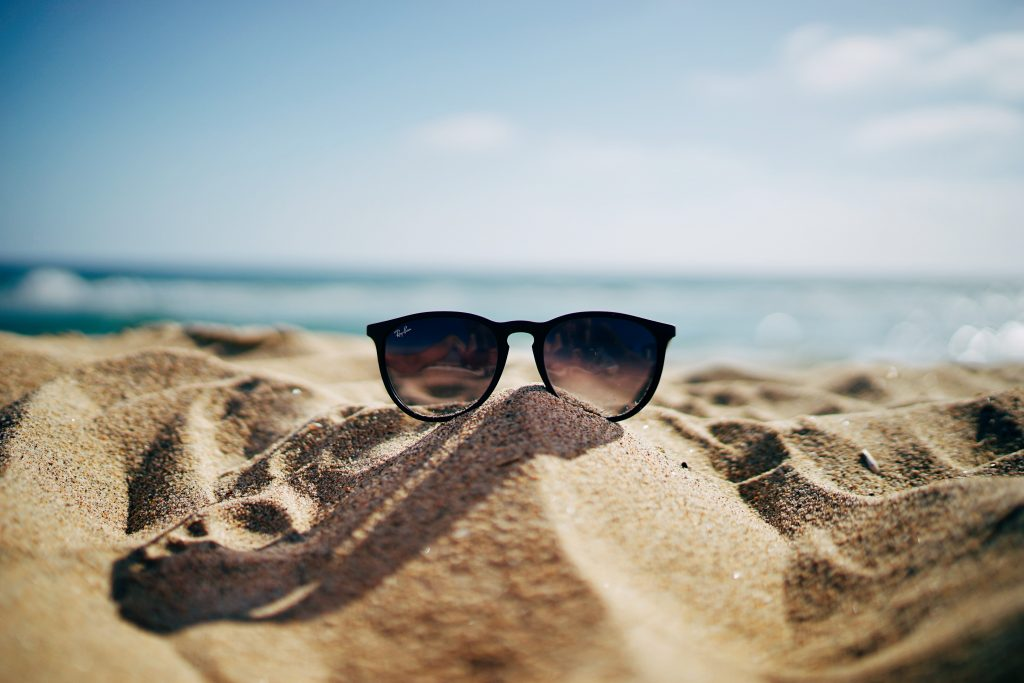 Summer Sunglasses at the Beach