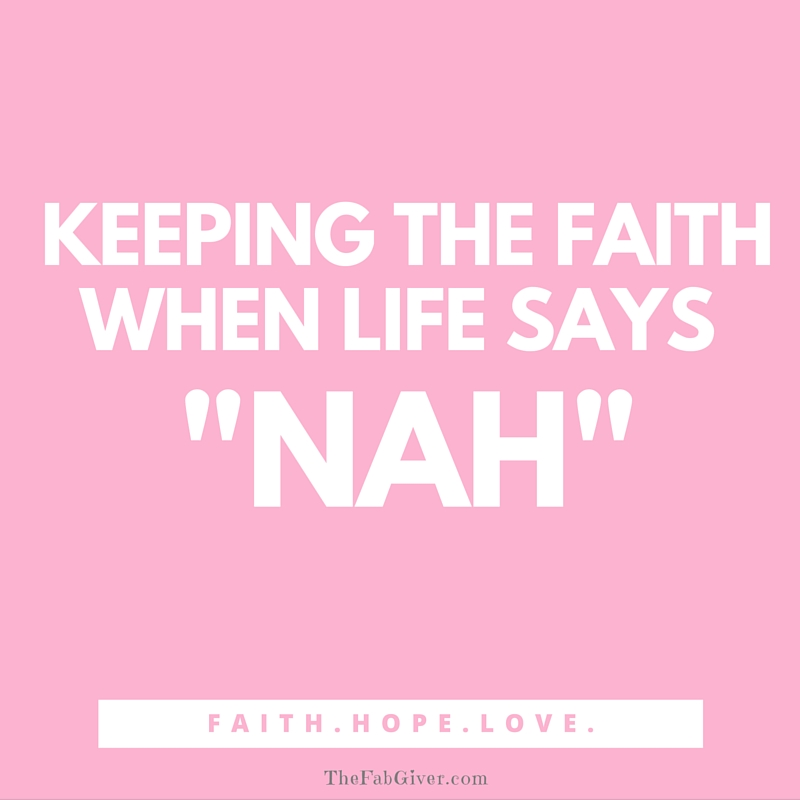 Six ways to keep the faith in a difficult period