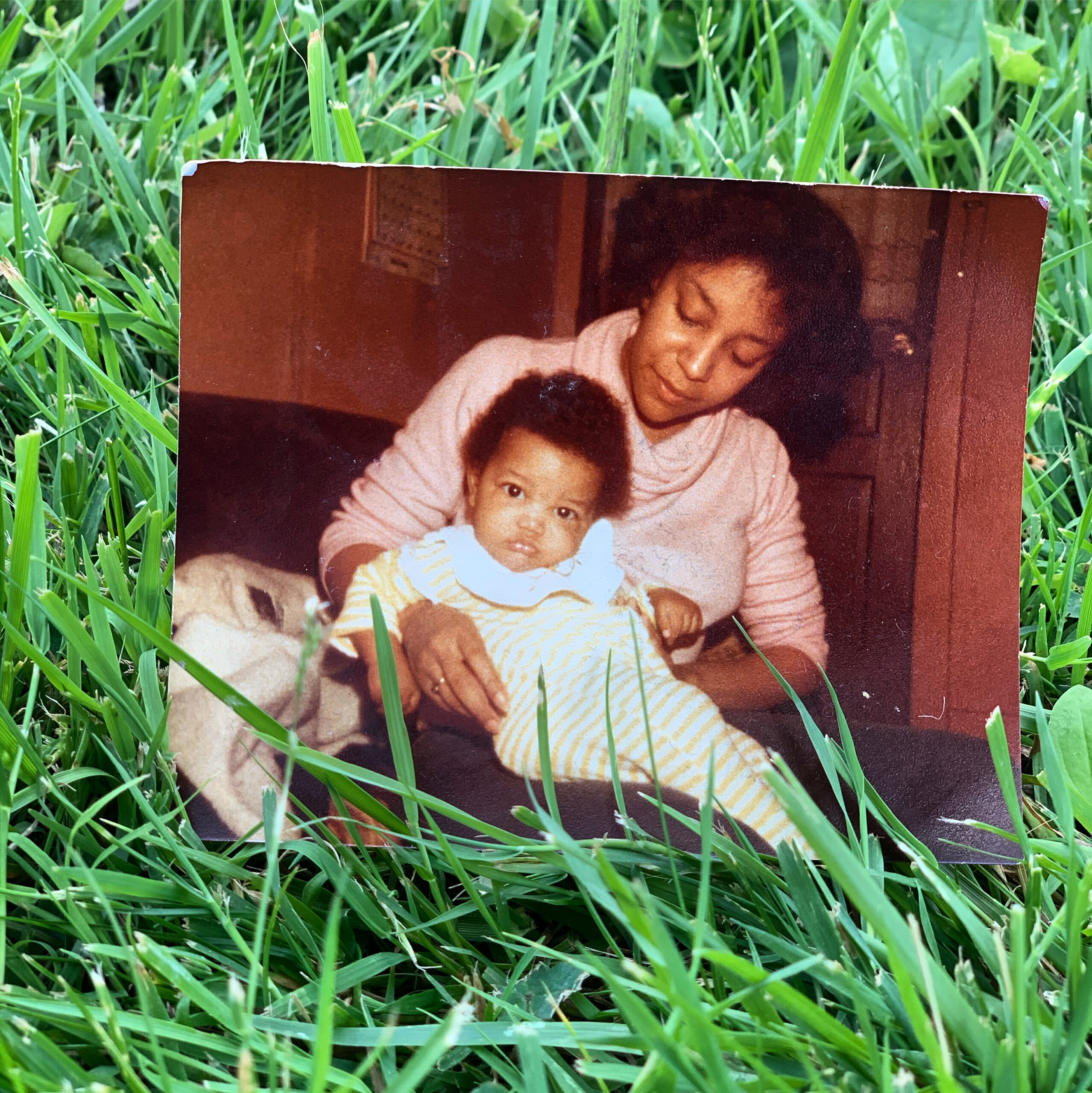 photo of young KB with mother