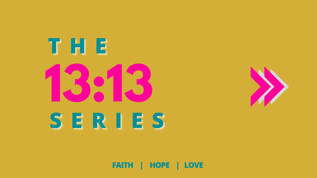 Promo banner for The Fabulous Giver 13:13 series