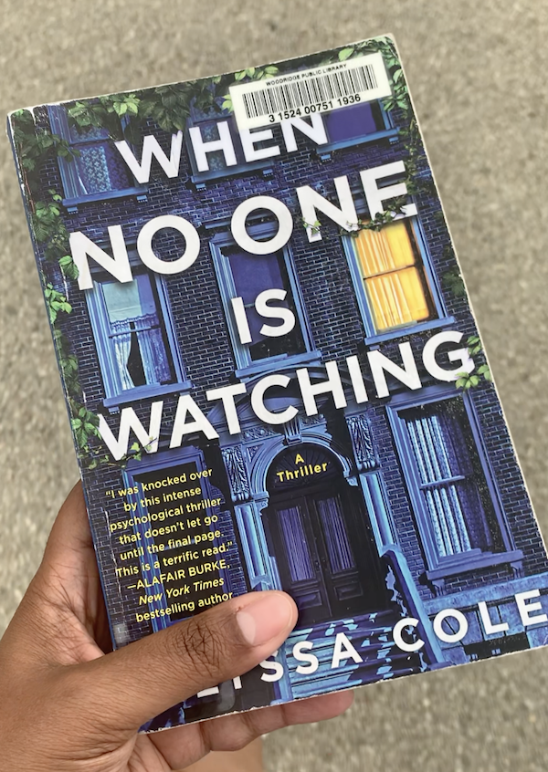 """Cover of """"When No One is Watching"""" book by Alyssa Cole"""